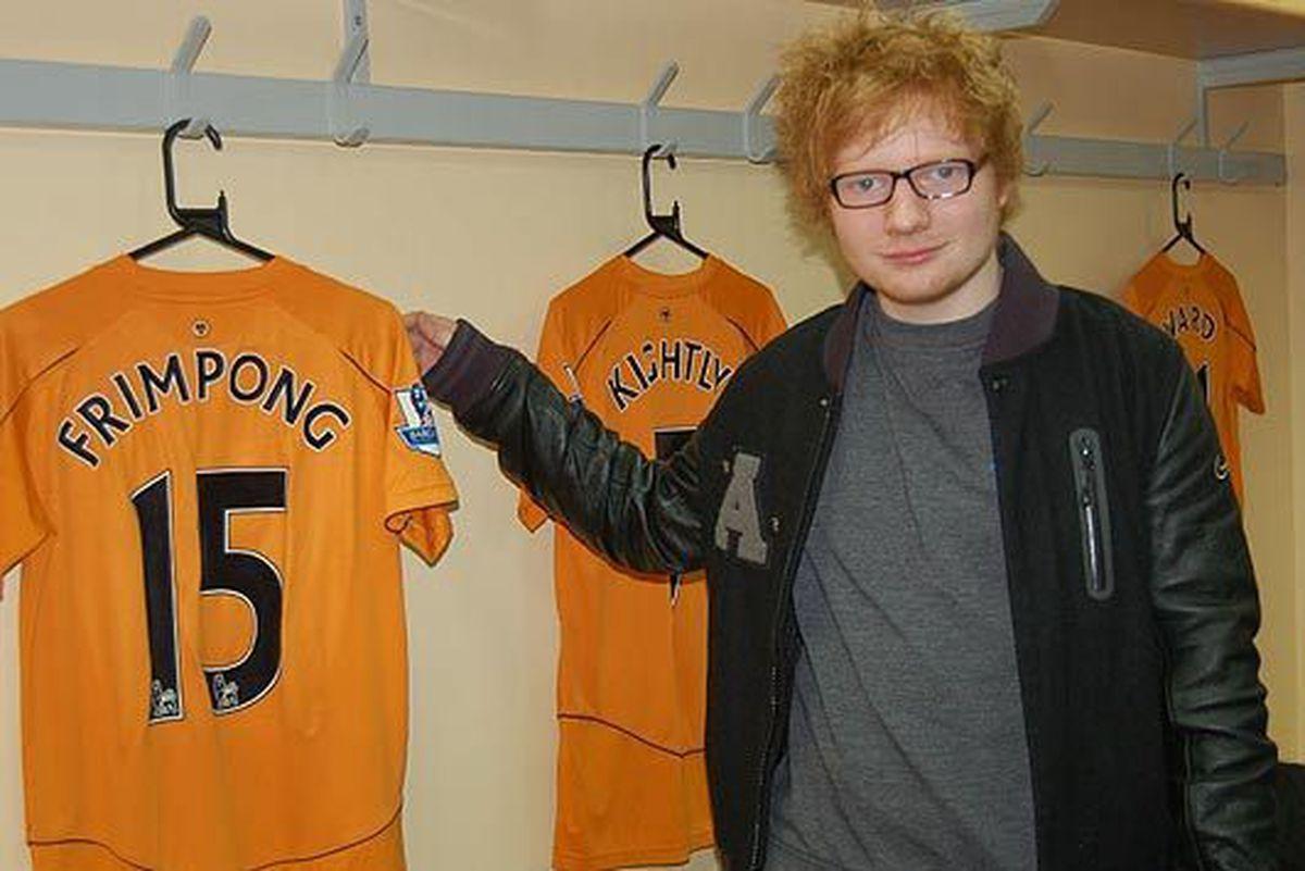 Ed Sheeran at Wolves