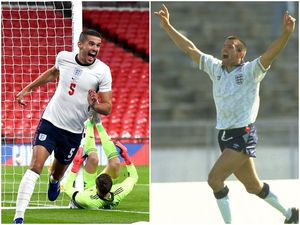 International goalscorers: Conor Coady was the first Wolves player to score for England since Steve Bull against Tunisia in 1990