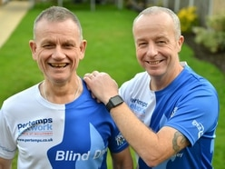 Blind Dave to complete gruelling series