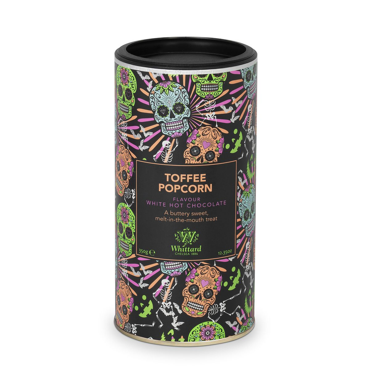 Toffee Popcorn Flavour White Hot Chocolate