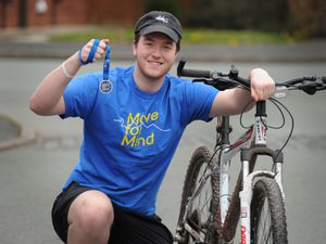 Luke Poulton-Hyde, of Darlaston, who took part in Move for Mind