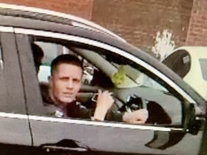 The man police want to speak to. Photo: West Midlands Police