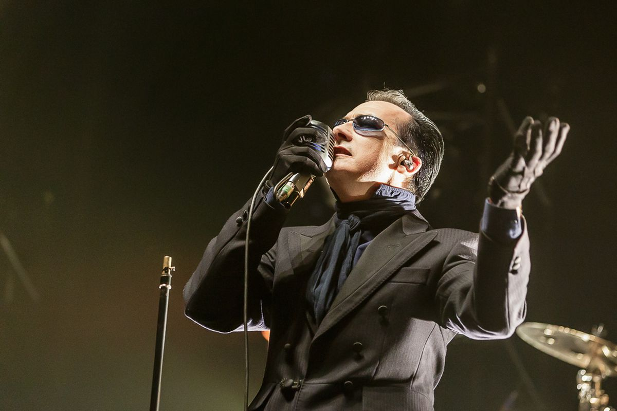 The Damned at the Genting Arena. Photo: Chris Bowley