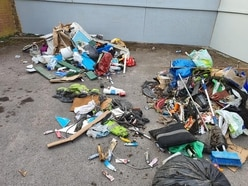 GP 'could cry' after fly-tippers target Willenhall surgery