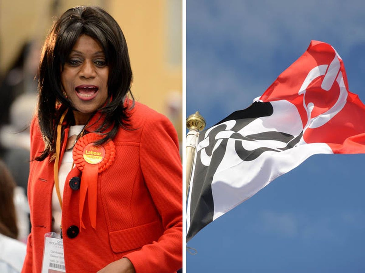 Eleanor Smith and the Black Country flag