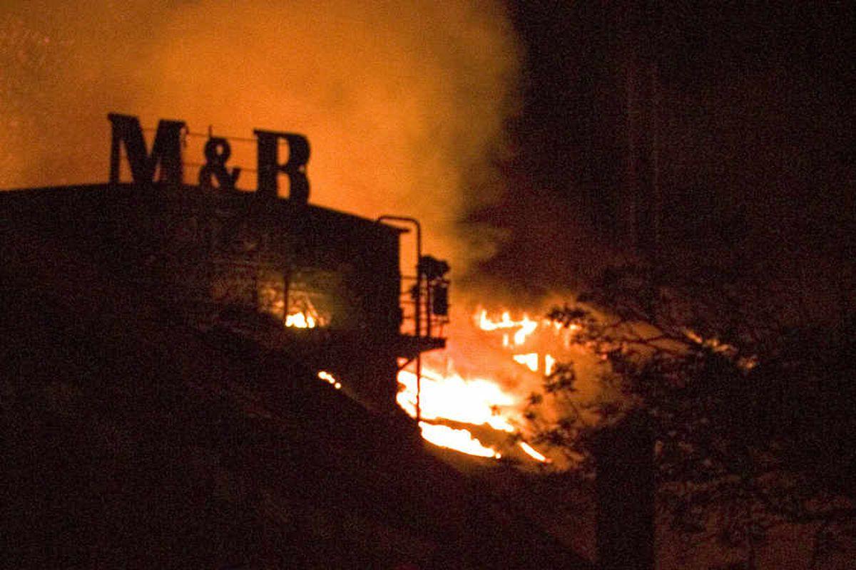 Flashback: 2004 blaze ravages Springfield Brewery