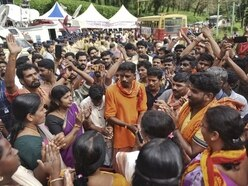 Indian temple opens its doors to females 'of menstruating age'