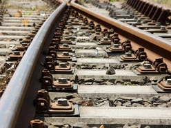 Person hit by train at Marston Green station
