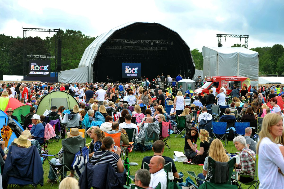 There's plans for more events to be brought to Sandwell Valley for the Commonwealth Games in 2022 like the Let's Rock gig