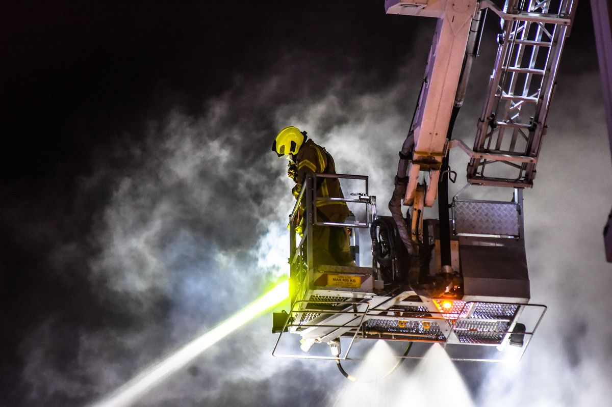 The hydraulic platform. Photo: SnapperSK