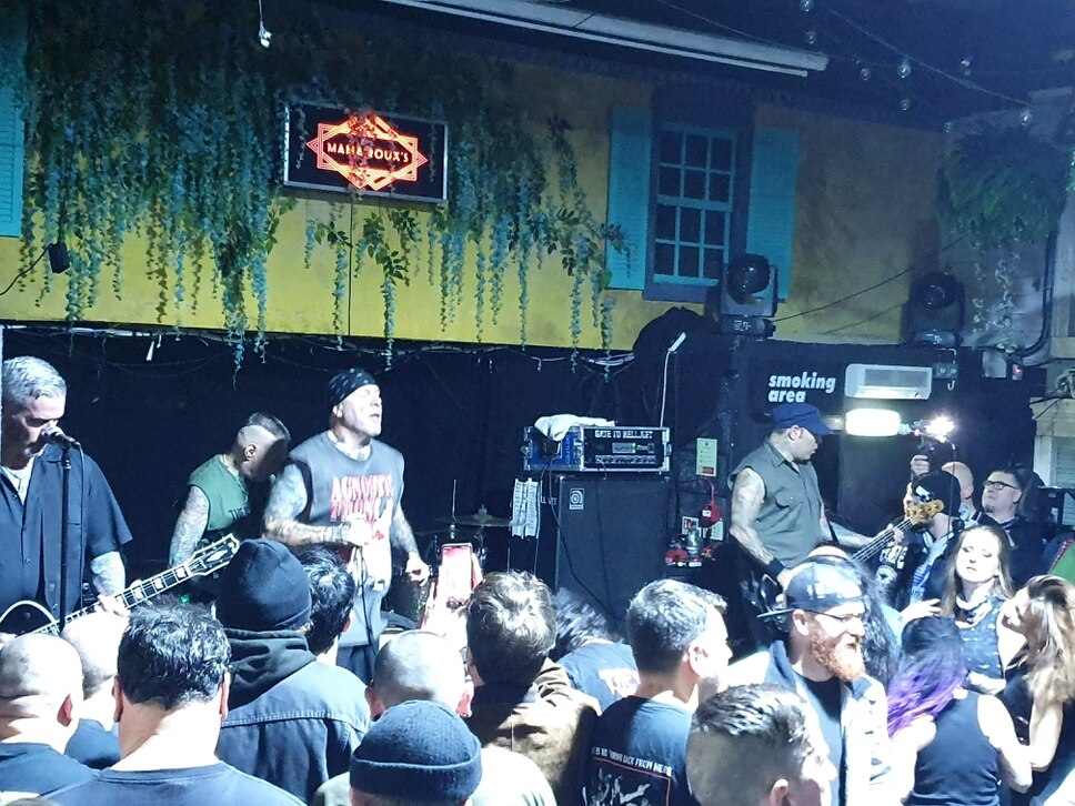 Agnostic Front at Mama Roux's, Birmingham - review