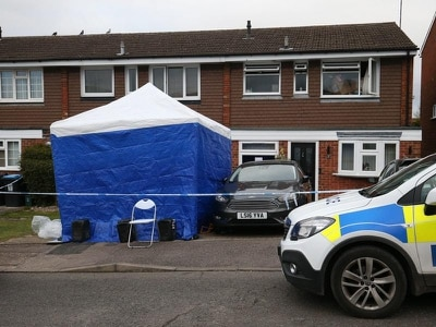 Mother and daughter found dead after house fire had been stabbed
