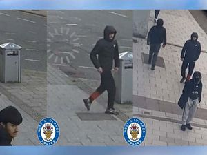 Police want to speak to these four in connection with a robbery