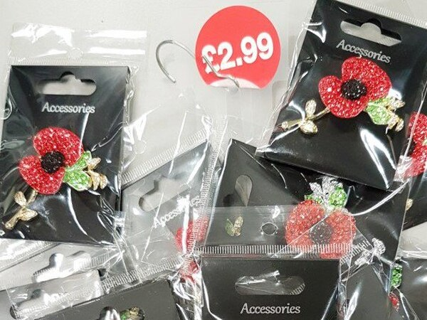 Fake poppies seized from Willenhall shop