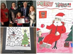 MPs get into festive spirit by revealing Christmas card designs