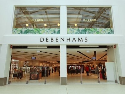 Shares slump as Debenhams issues third profit warning