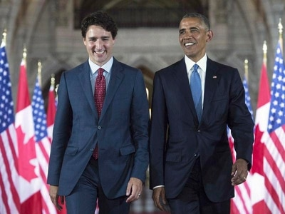 Obama endorses Trudeau in unprecedented move
