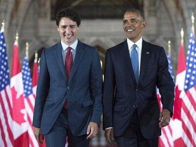 Obama endorses Trudeau in unprecedented move