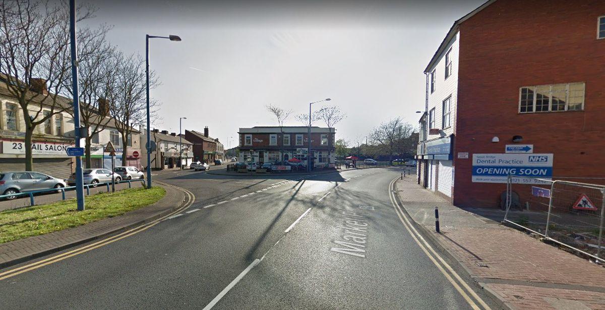 The man's body was found near a shop in Great Bridge, in Tipton. Photo: Google Maps