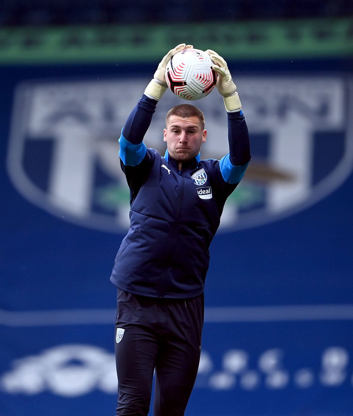 West Bromwich Albion goalkeeper Sam Johnstone