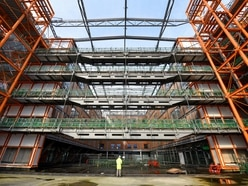 Work restarts on Smethwick super-hospital after two-year delay