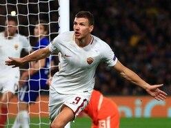 Roma coach Di Francesco says Chelsea target Edin Dzeko will start at Sampdoria