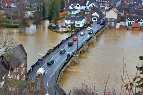 UK's Johnson Under Fire for Flood Response as More Rain Due