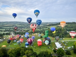 Bristol balloon fiesta to take place as 'flypast' in the sky