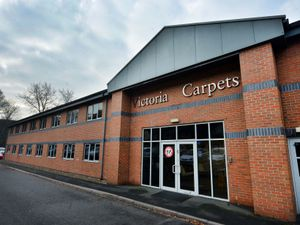 DUDLEY COPYRIGHT EXPRESS AND STAR STEVE LEATH 27/10/2020..Pic in Kidderminster at Victoria Carpets. They have had a good year and release there 6 month figures this Monday..