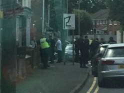 Netherton road closed after 'sword-wielding man' seen in mass brawl
