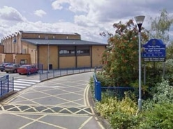 Pupil hurt after being cut by knife found outside school