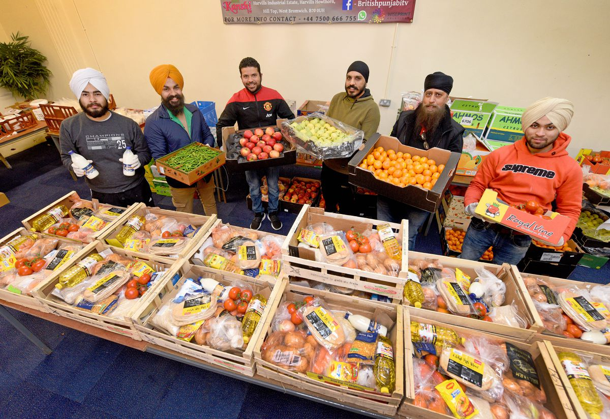 Project Food Bag has already helped more than 1,000 families across the region