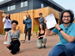 Celebrations and commiserations on unusual A-level results day
