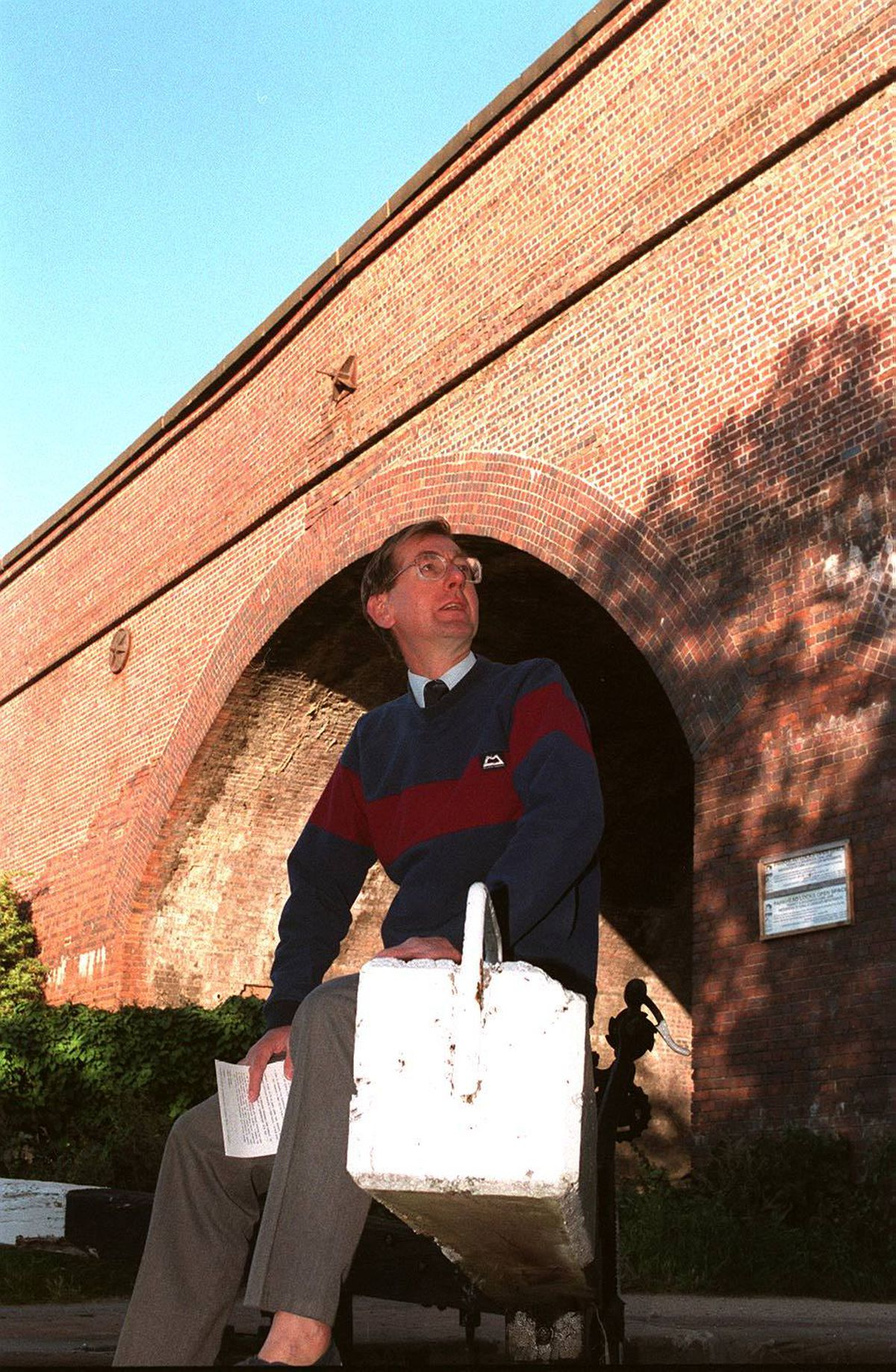 Tim Weller has been campaigning to reopen the railway line from Lichfield to Stourbridge since the 1990s