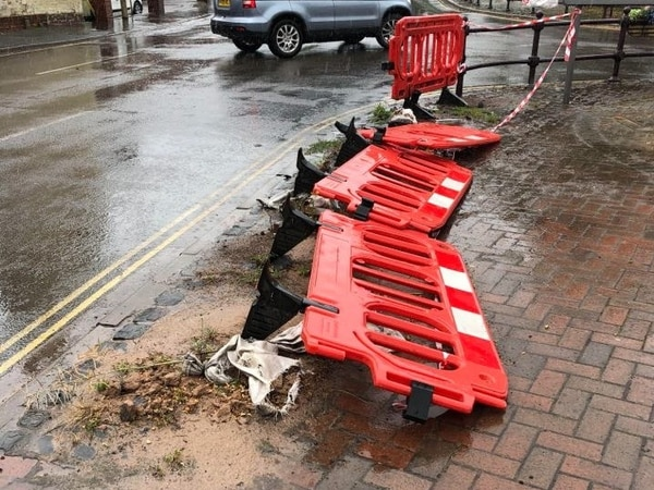 'Eyesore' barriers damaged in 2015 Bridgnorth smash set to be repaired five years later