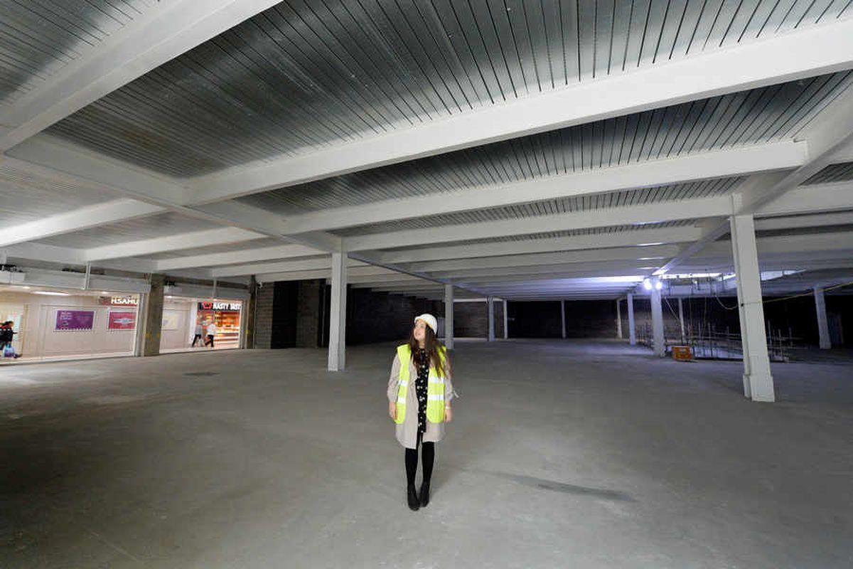 First look inside new Wolverhampton Debenhams as Mander Centre revamp continues