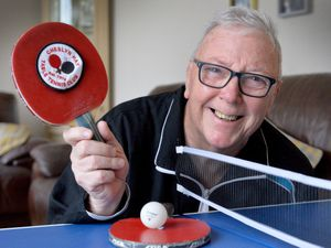 John Quinn, from Cheslyn Hay Table Tennis Club, which has been nominated for Club of the Year in their Pride of Table Tennis Awards 2020