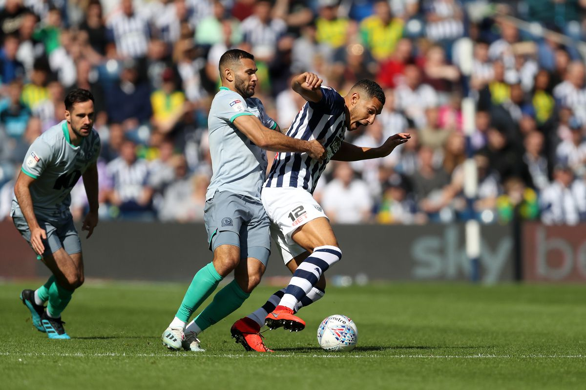 Bradley Johnson of Blackburn Rovers and Jake Livermore of West Bromwich Albion. (AMA)