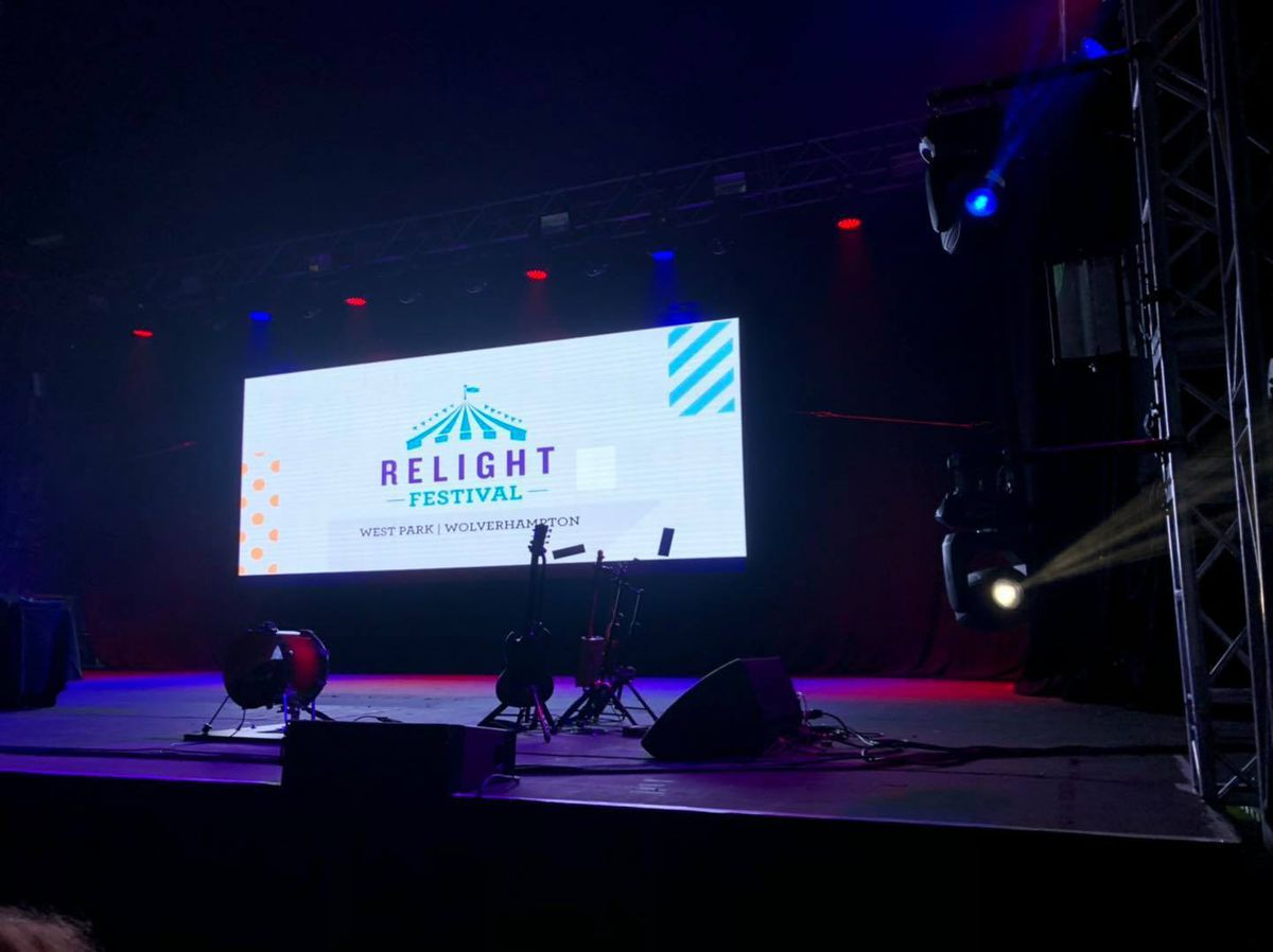 The Relight Festival was held in West Park in Wolverhampton from August 20 to September 5 2021. Photo: Relight Festival/City of Wolverhampton Council