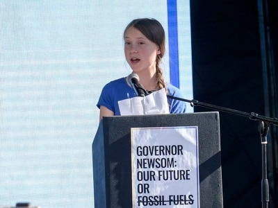 Greta Thunberg to set sail for Europe after climate talks relocated