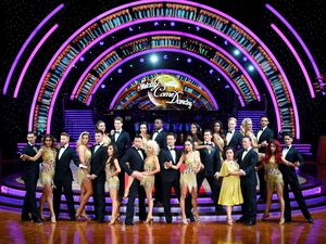 Dancers and celebrities gear up for Strictly Birmingham. Photo: Joe Giddens/PA Wire