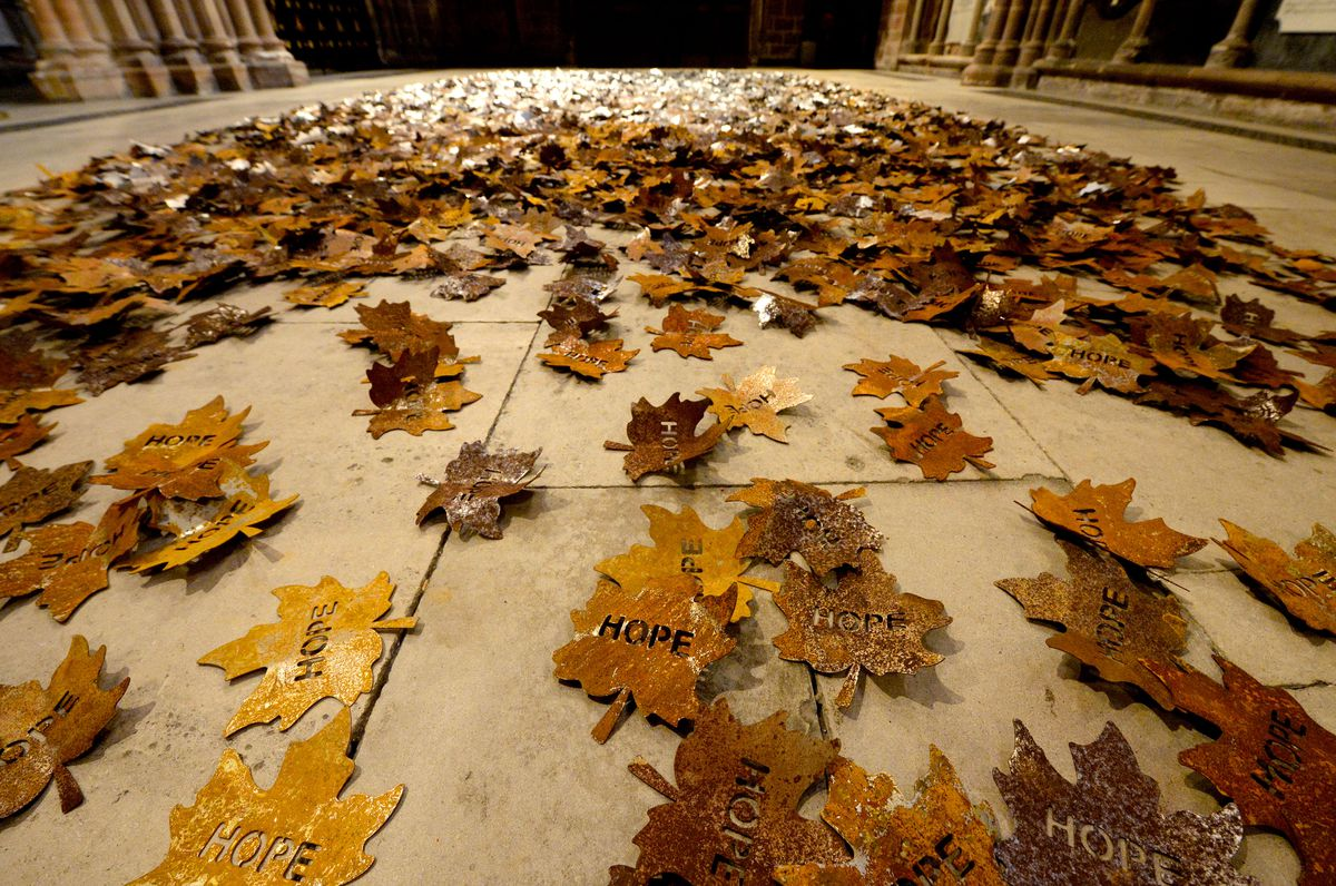 The Leaves of the Trees' touring artwork installation