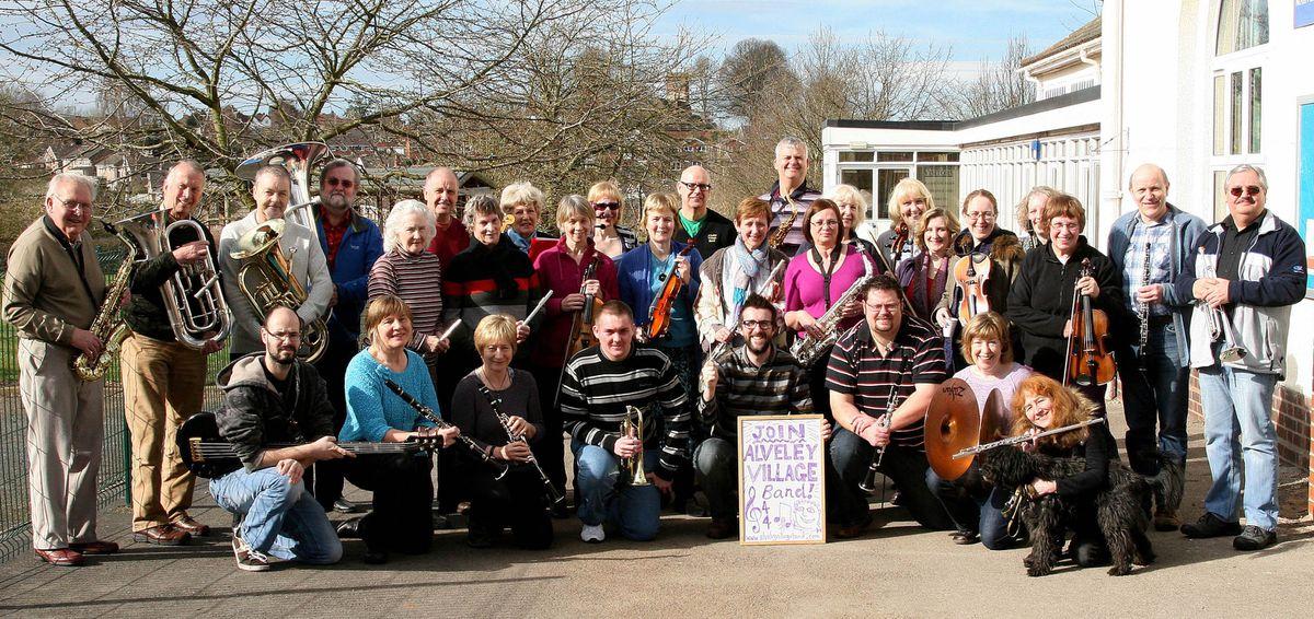 15/3/2014. Alveley Primary School. Alveley Band appeal for new members. PICTURE: SIMON DEVEY.