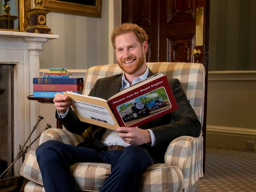 Prince Harry introduces Thomas & Friends 75th anniversary episode featuring the Queen
