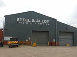 Warehouse with cranage placed on industrial market