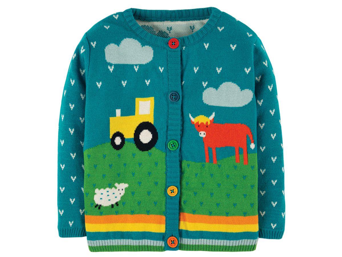 Frugi Cuddly Knitted Cardigan