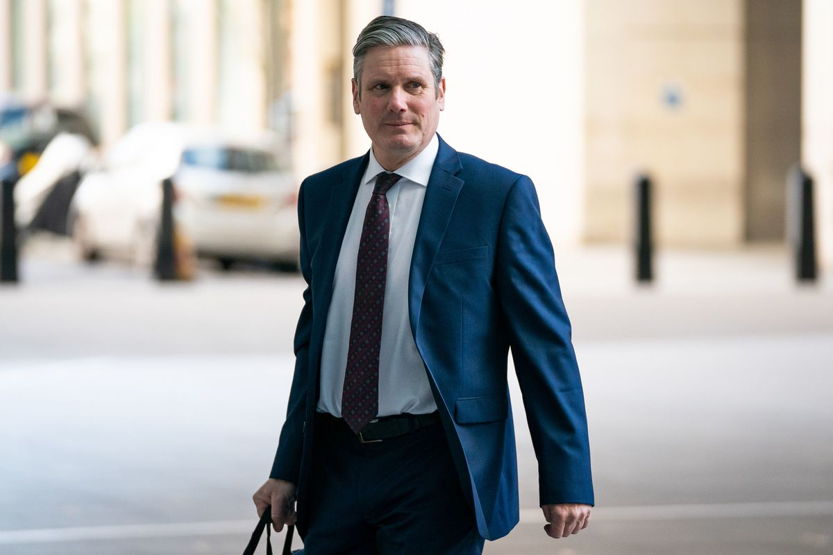 "Labour leader Sir Keir Starmer says local lockdowns should be ""as short as possible"""