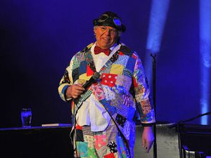 Roy Chubby Brown's booking at Bilston Town Hall has angered some