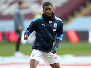 Ainsley Maitland-Niles of West Bromwich Albion during the pre-match warm up. (AMA)