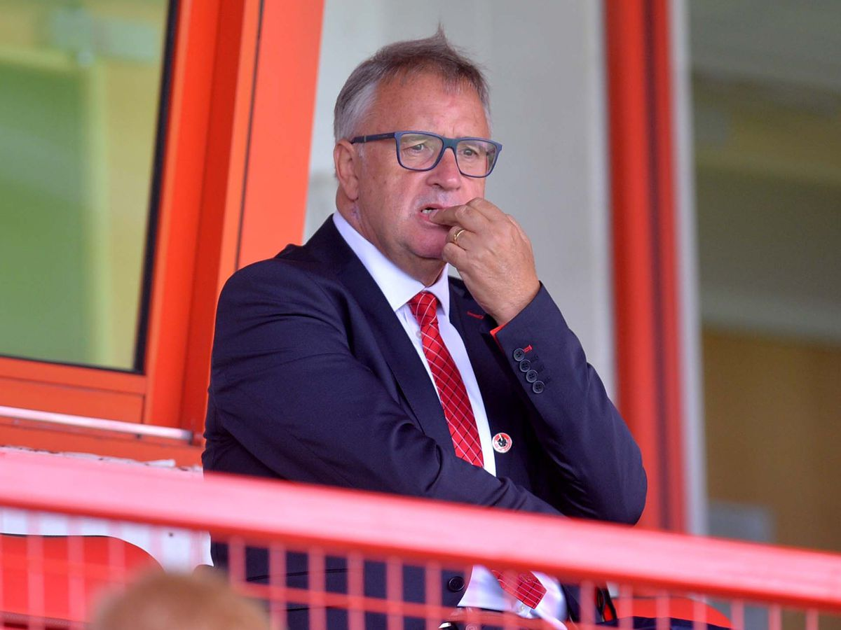 Chairman Leigh Pomlett is in charge during one of the most difficult times in Walsall's history